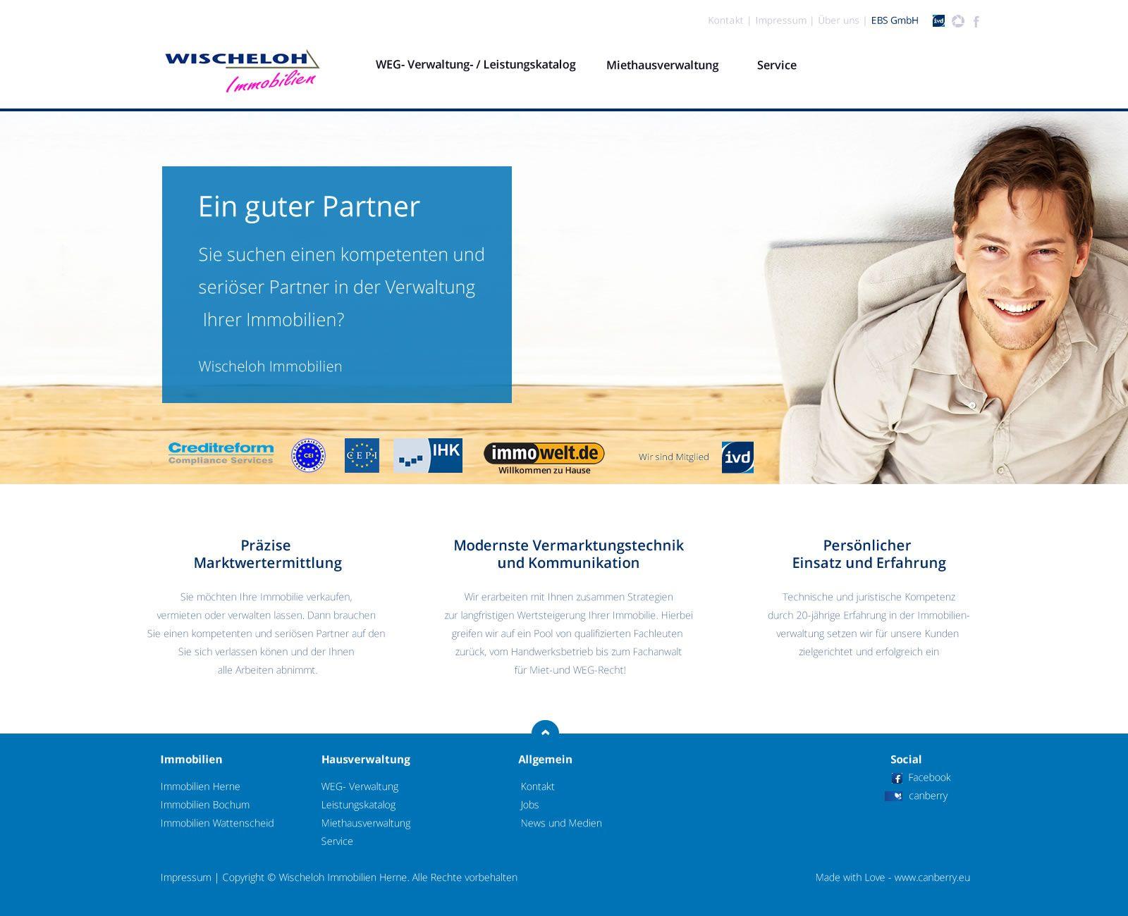 Neue Website mit Anbindung für Wischeloh