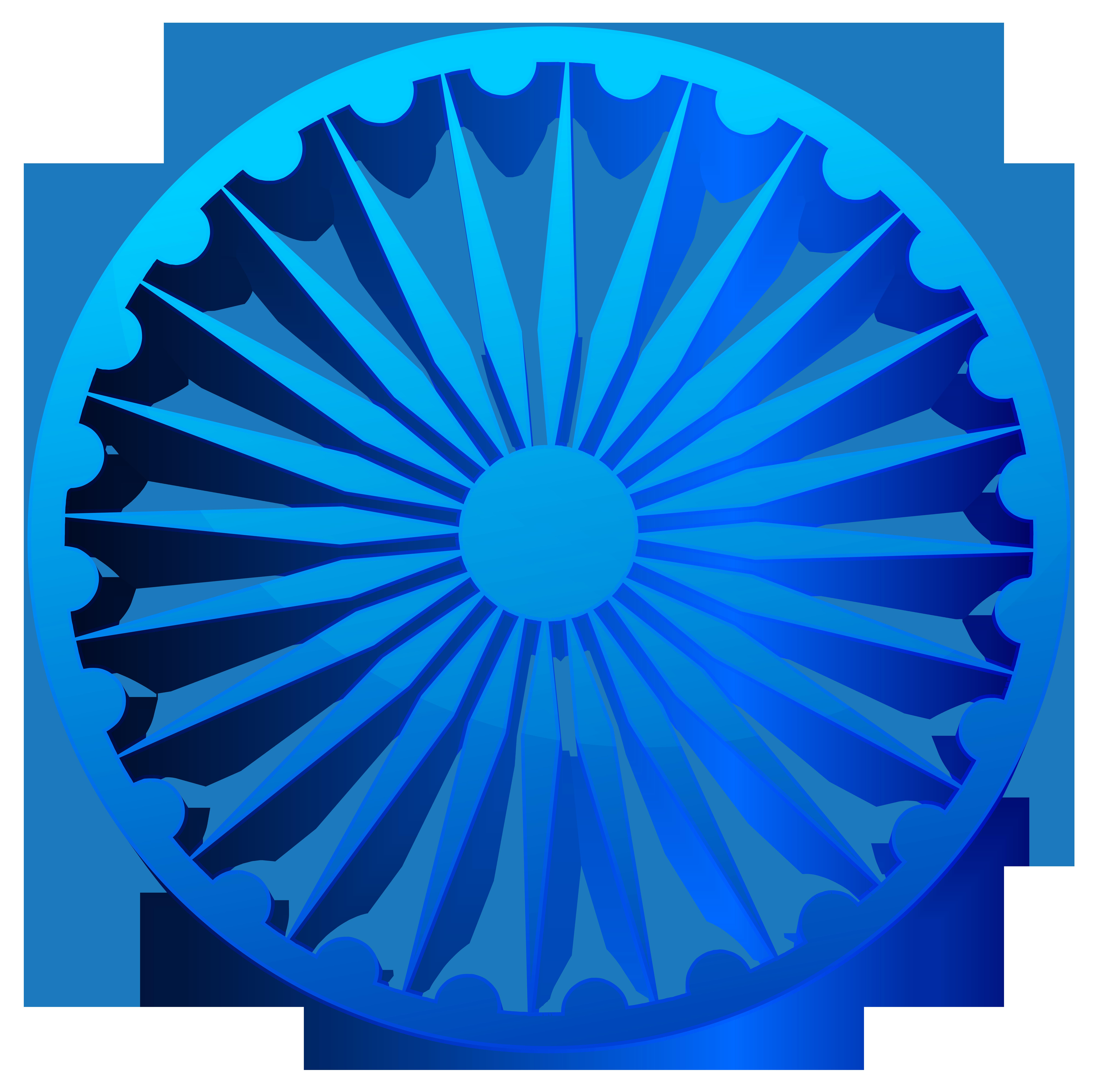 Ashoka Chakra India Transparent PNG Clip Art Image