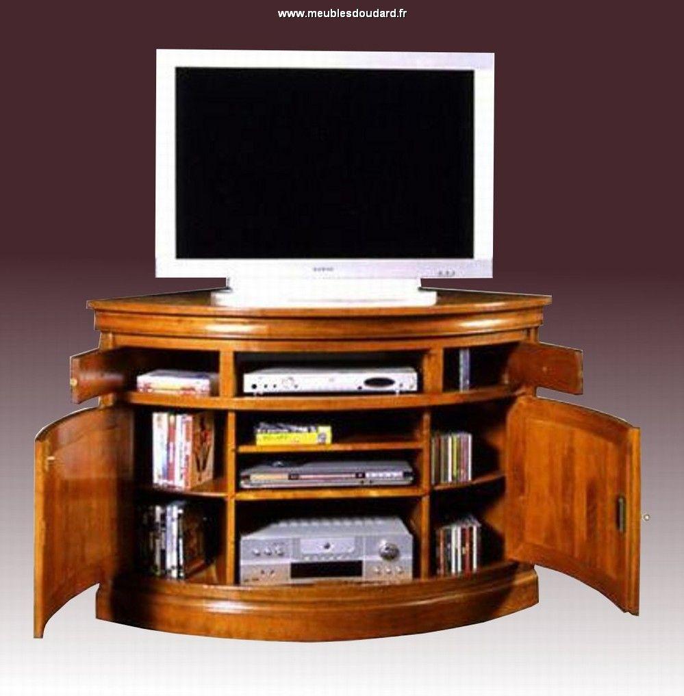 Magnifique Meuble Tv Coin D Coration Fran Aise Pinterest  # Dimension Meubles Tv Ecran Plat