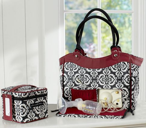 Wouldn T It Be Great Not To Have Carry The Tell Tale Black Pumping Bag This Is So Much Sassier