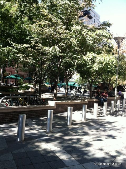 Worldwide Plaza-POPS--Pocket Parks-8th Avenue-Madison Square Garden-NYC