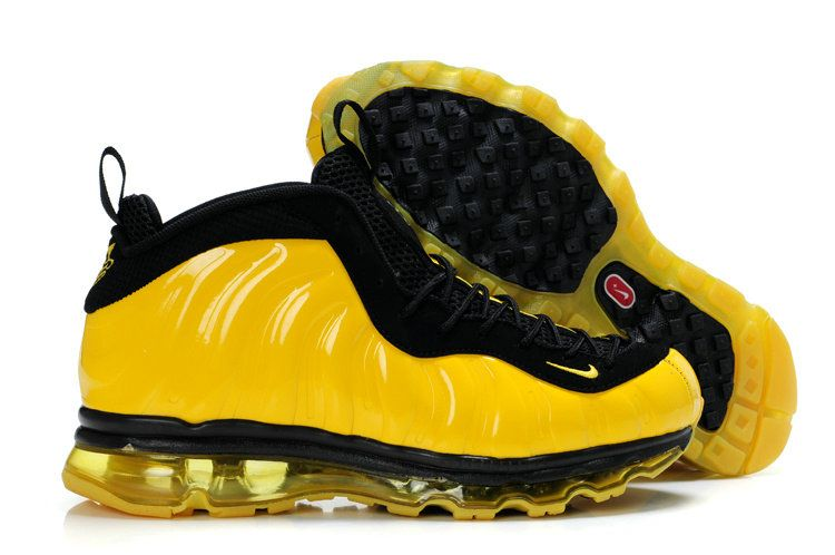 3f76dcb485aa2 Cheap Penny Hardaway shoes Penny Hardaway Net Worth Air Foamposite + Air  Max 09 Sole Fusion Gold Black