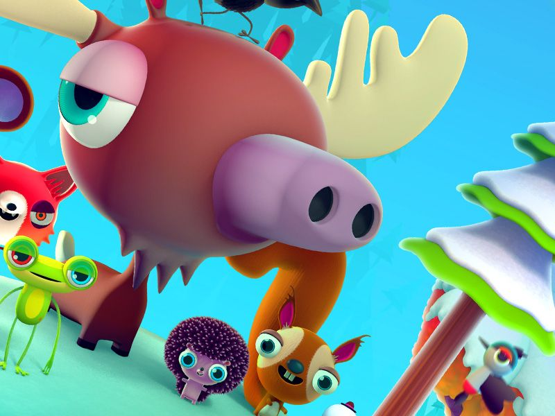 moose 3d pokedstudio