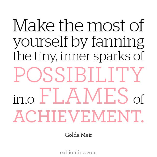 What sparks of possibility will catch flame this week for you?  #MotivationMonday #Quotes #Inspiration