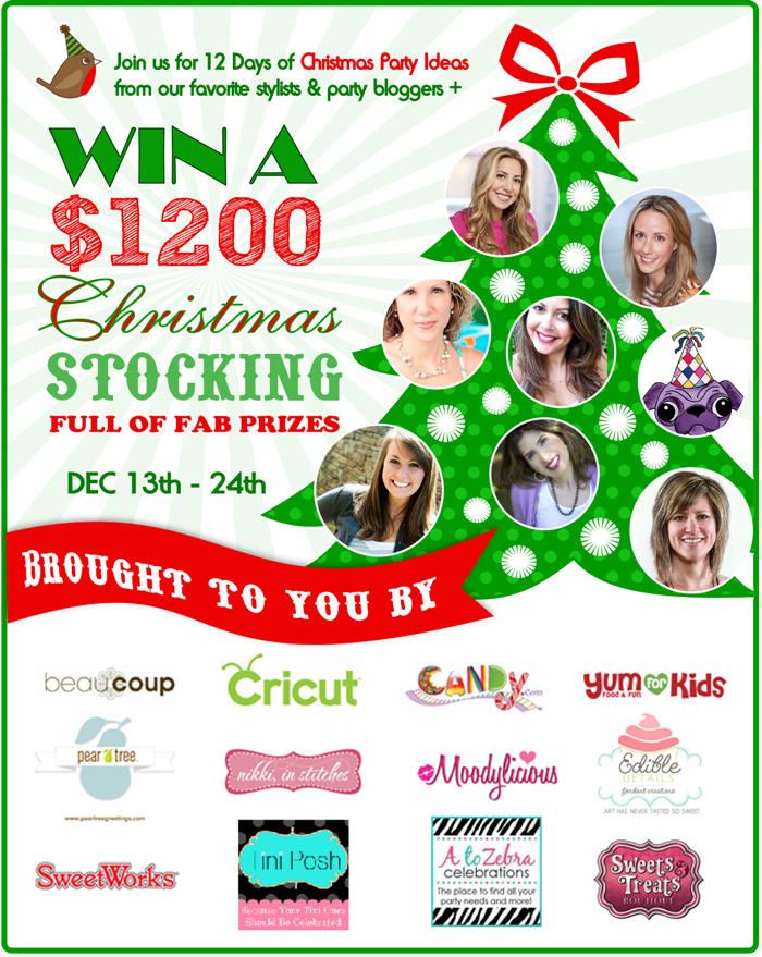 Ordinary 12 Days Of Christmas Party Ideas Part - 13: 12 Days Of Christmas Party Ideas U0026 A $1200 Giveaway