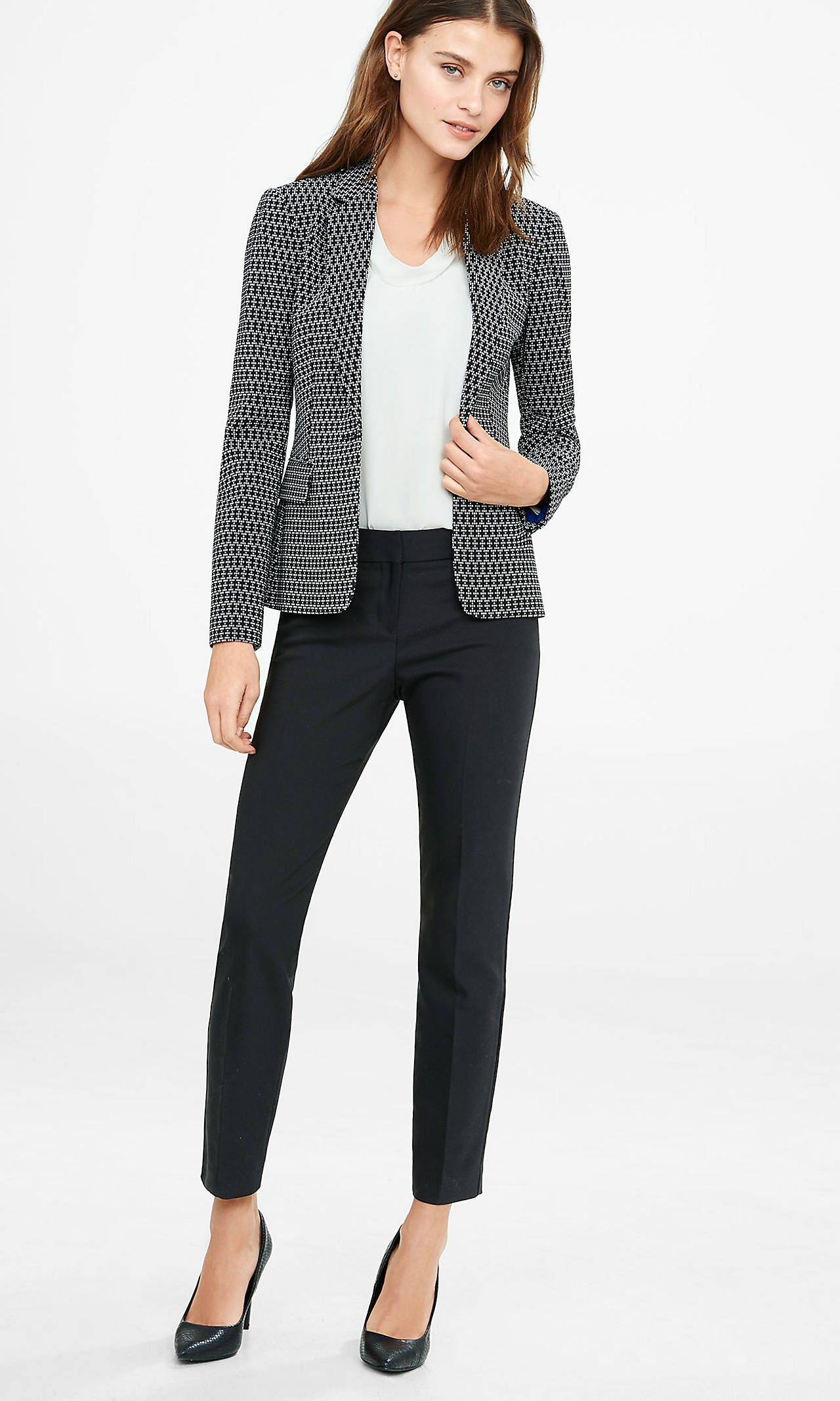 Ankle Pants With Suit