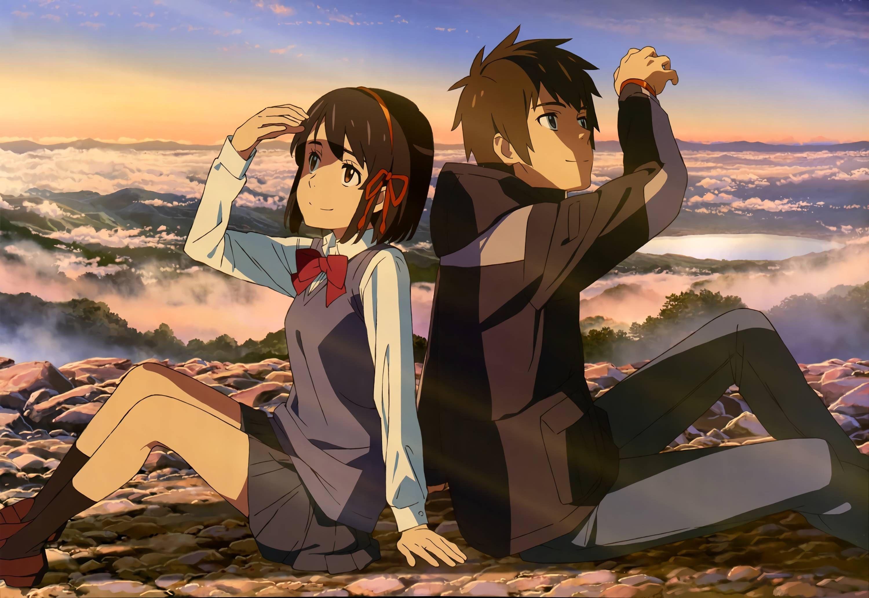 Hd wallpaper kimi no na wa - Find This Pin And More On Anime Wallpaper Ochiai Hitomi Kimi No Na Wa