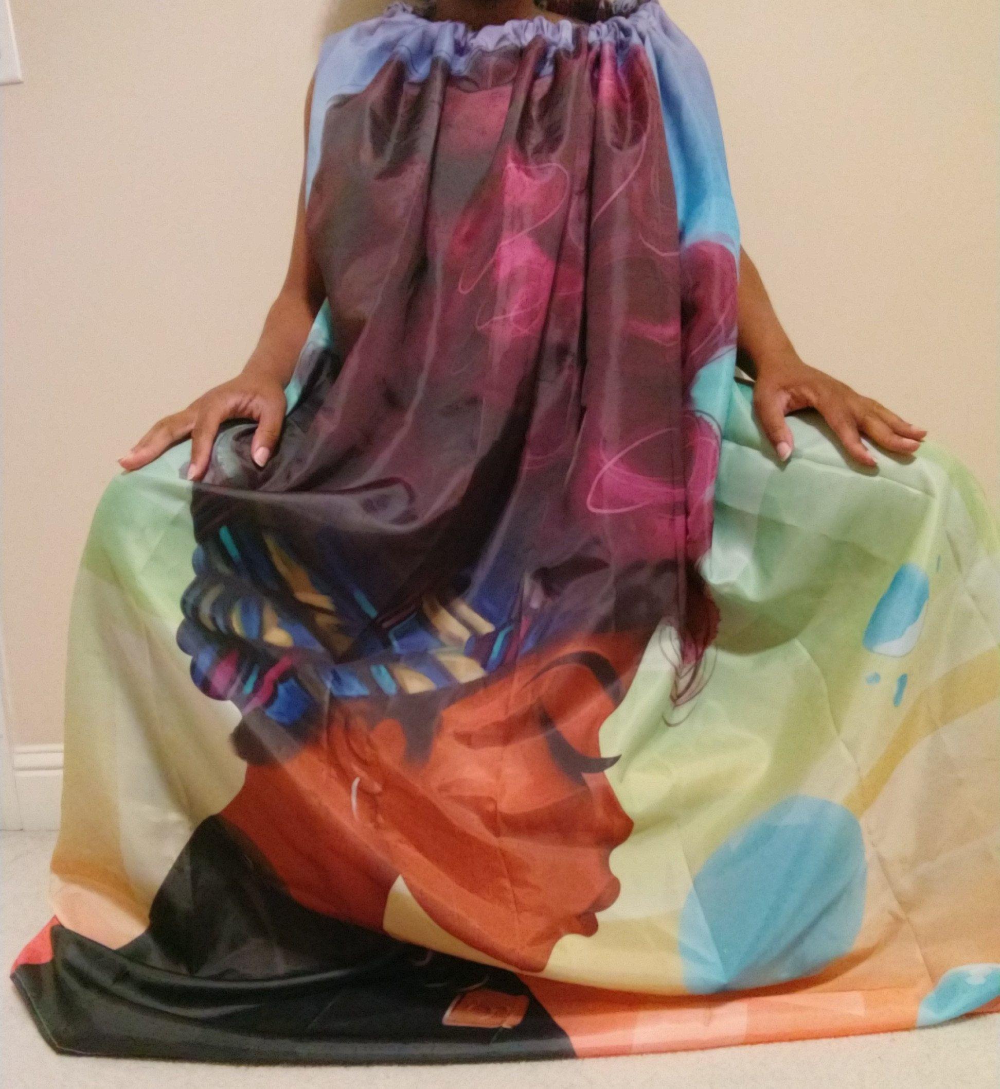 16f69797448e6 Custom Yoni Steam Gown V-Steam Vaginal Steaming Hip Bath Robe ...