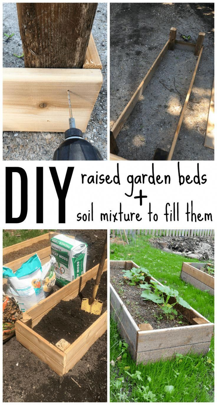 Diy Raised Garden Beds In Less Than One Hour This Project 400 x 300