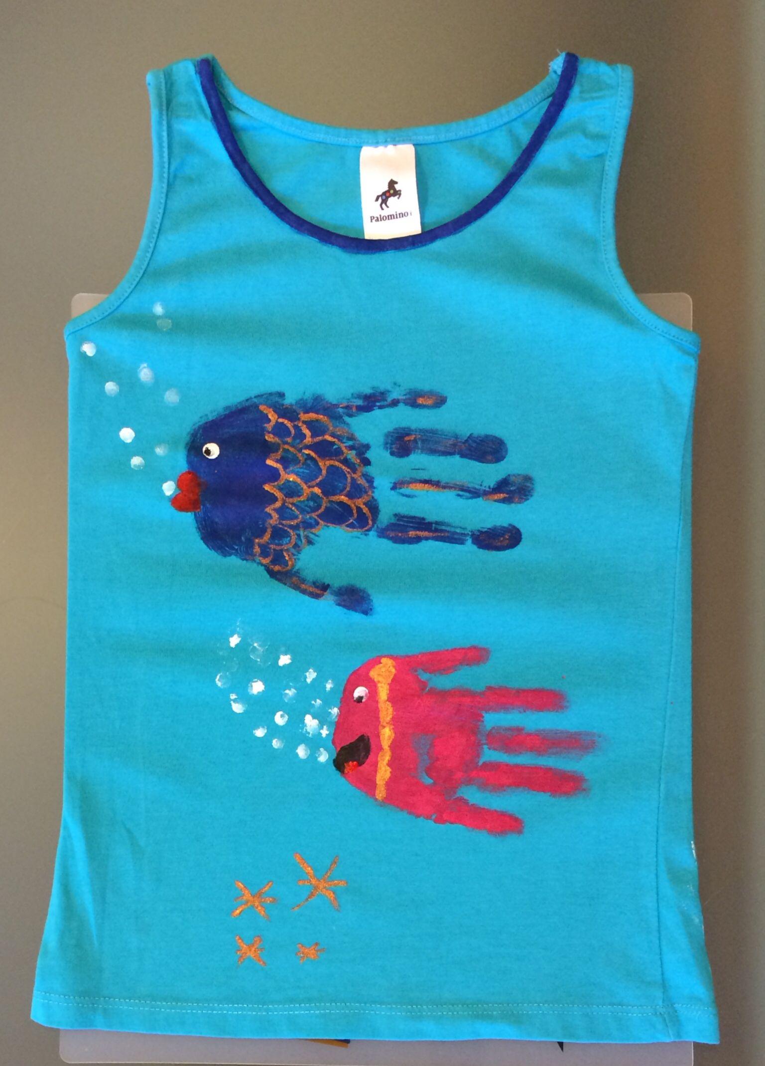 Camiseta pintada a mano hecha por in s y cdalia - Pintura para camisetas ...