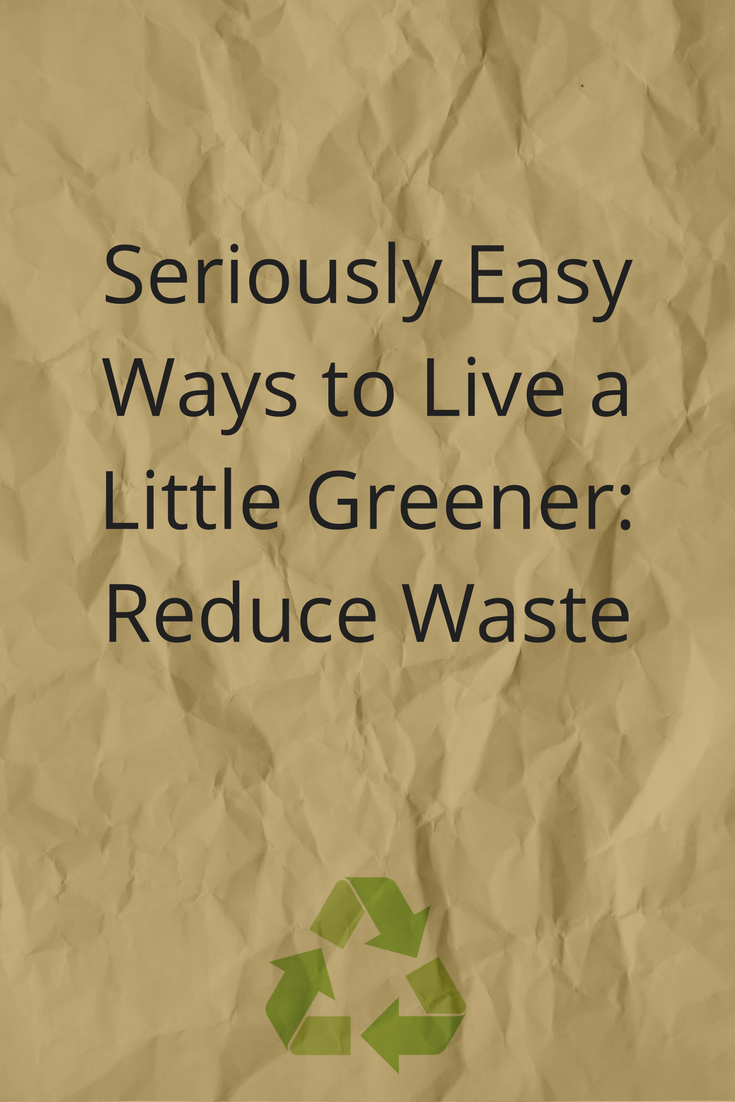 Reducing waste at home is SO easy! Here are just a few ways