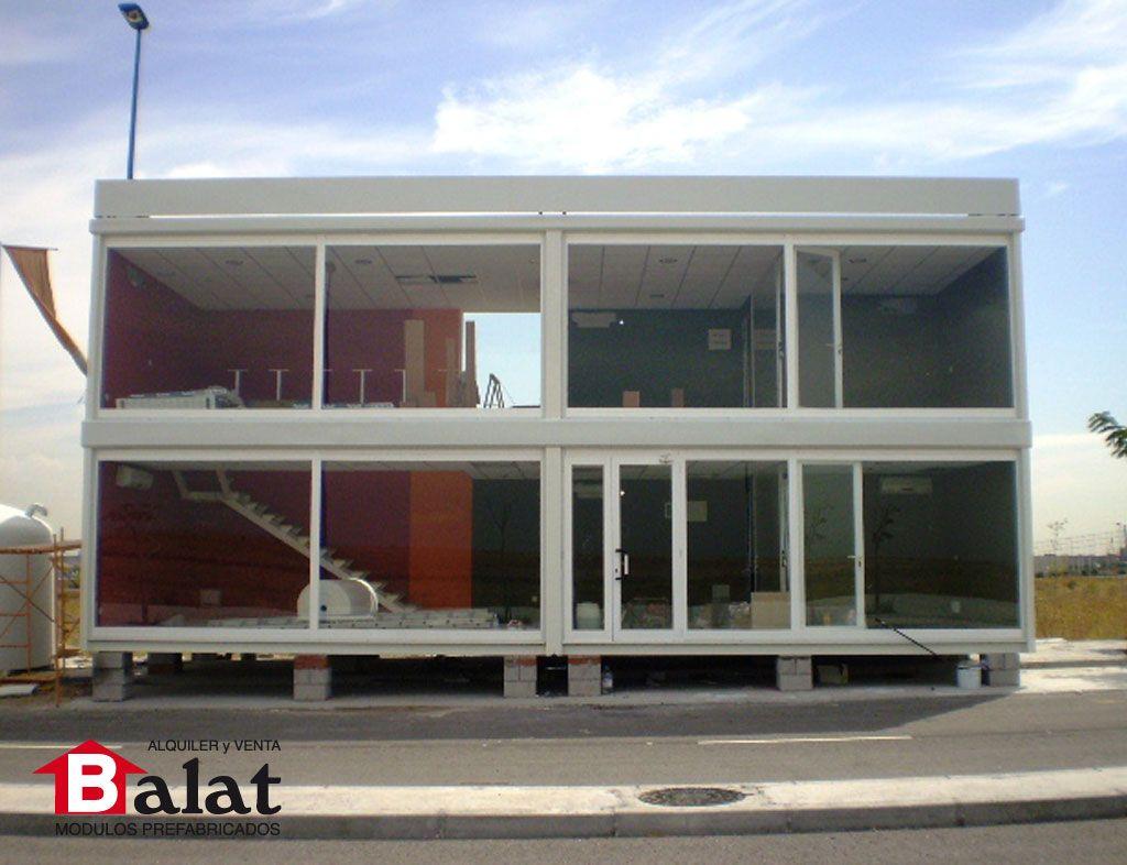 Construcci n modular stand modular soho madrid caseta for Modulos oficinas prefabricados