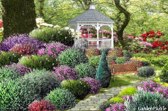 Garden design:Alannas Shrub Garden - Winter   Gardens   Pinterest ...