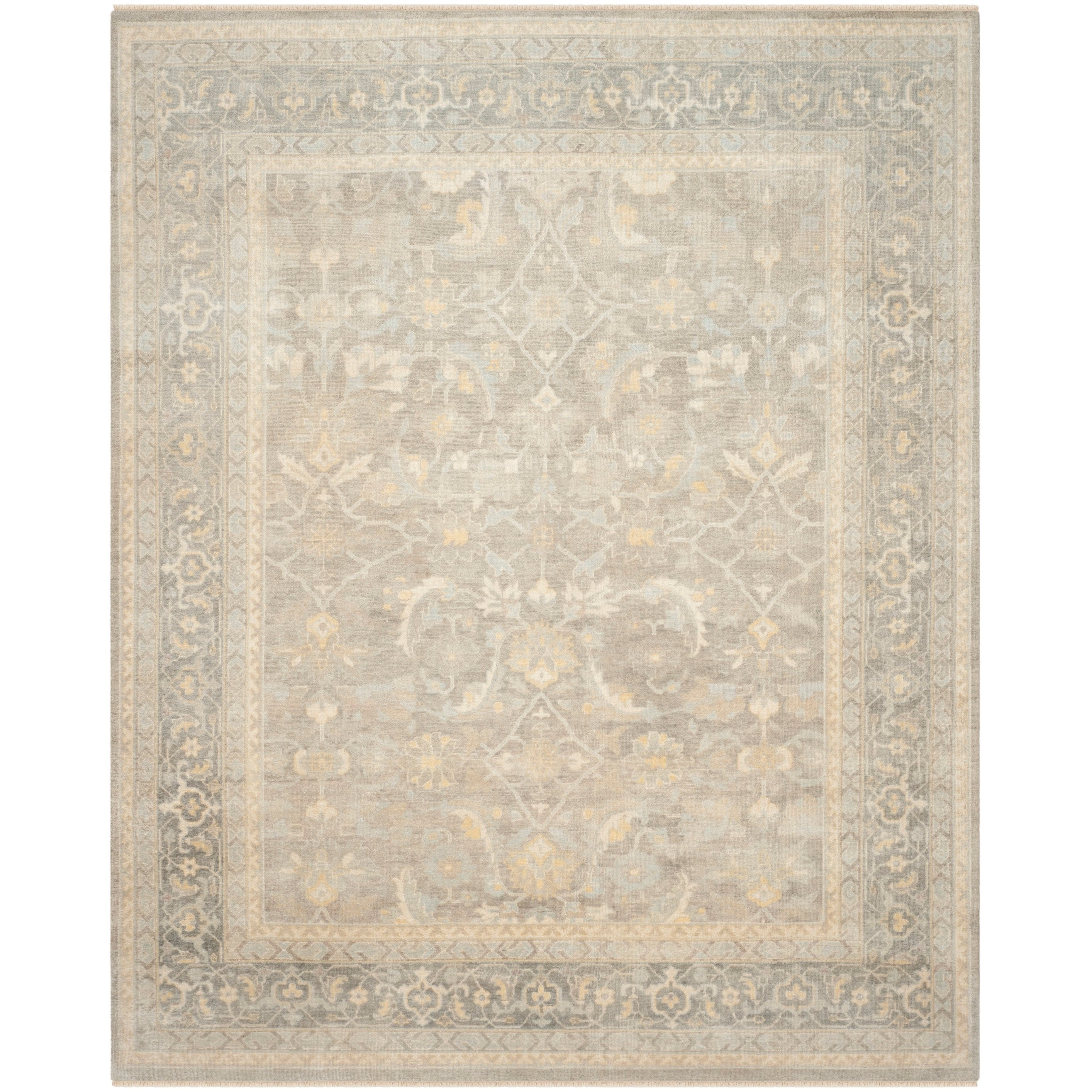 Safavieh Couture Handmade Sultanabad Traditional Grey Wool Rug