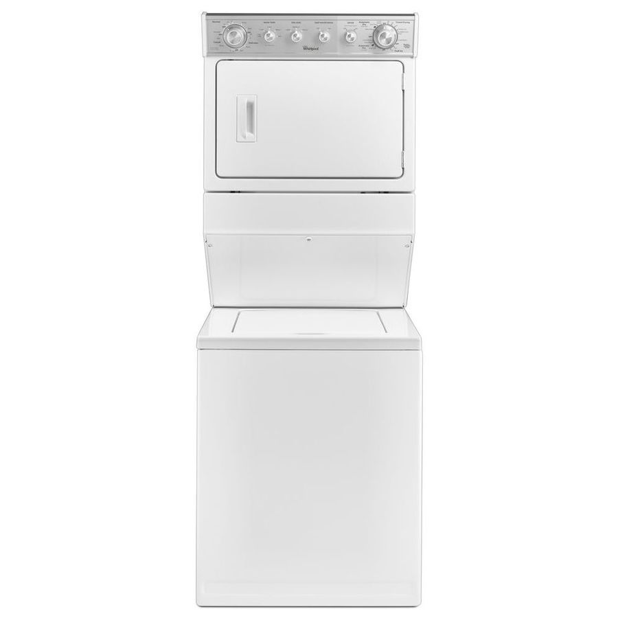 Whirlpool Electric Stacked Laundry Center With 2 5 Cu Ft Washer