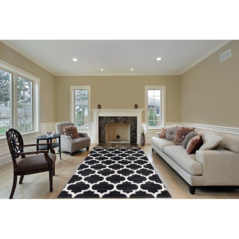 Segma Waterloo Black Area Rug Reviews Wayfair Area Rugs