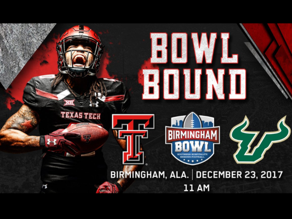 Bowl Bound Texas tech football, Tech football, Texas
