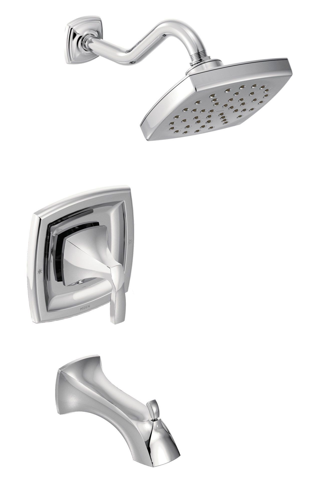 Voss Tub And Shower Faucet Trim With Lever Handle Tub Shower Faucets Shower Tub Faucet