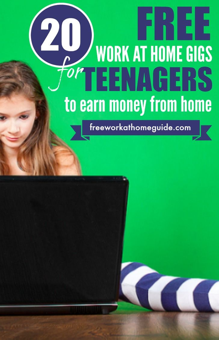 How to earn money for teenagers at home