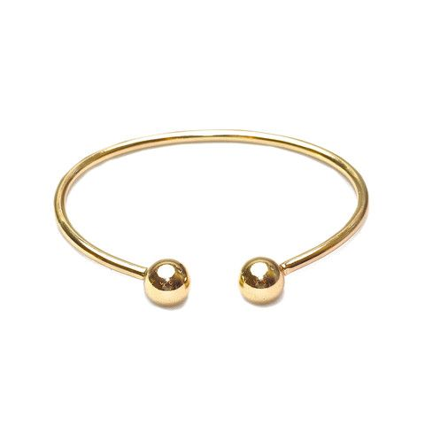 Ball Cuff in Gold | Anarchy Street