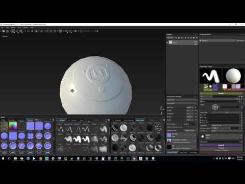 How To Paint Out Normal Artifacts with Substance Painter