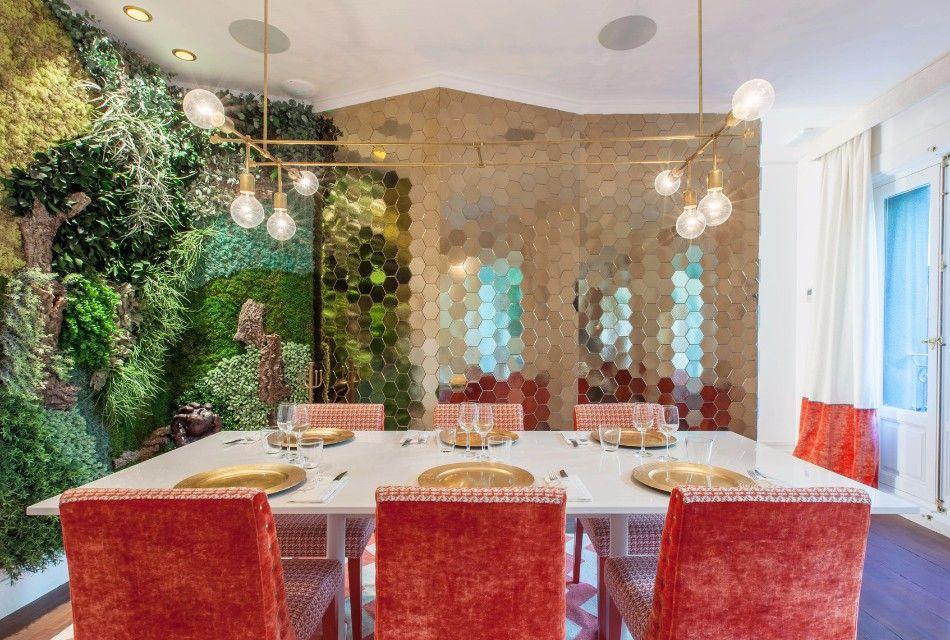 Top Interior Designers Marvelous Restaurant Flamingo By Marisa Gallo |  Www.bocadolobo.com #