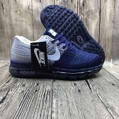 nike air max 2017 blue and gray