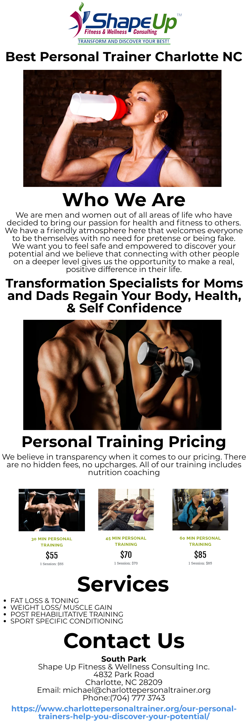 Pin On Best Personal Trainer Charlotte Nc