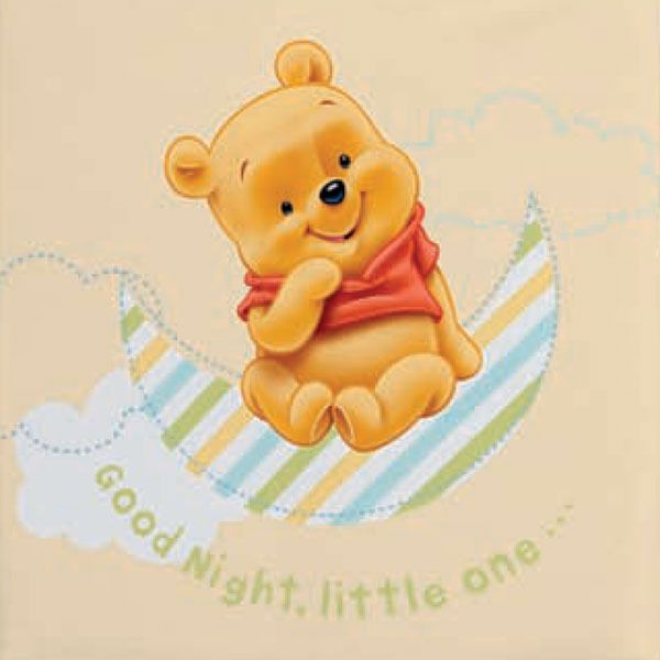 Baby Blanket Winnie The Pooh From Manterol
