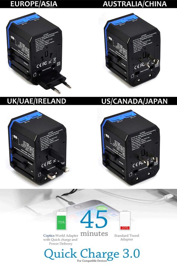 World Travel Power Adapter