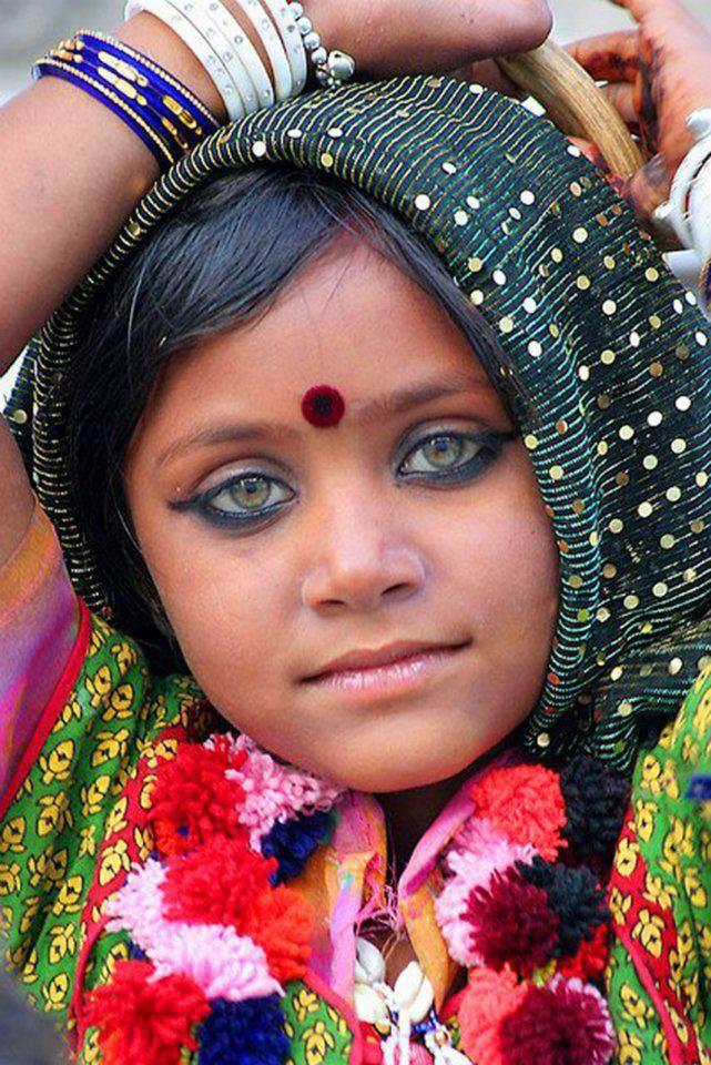 ♥ A child's eyes