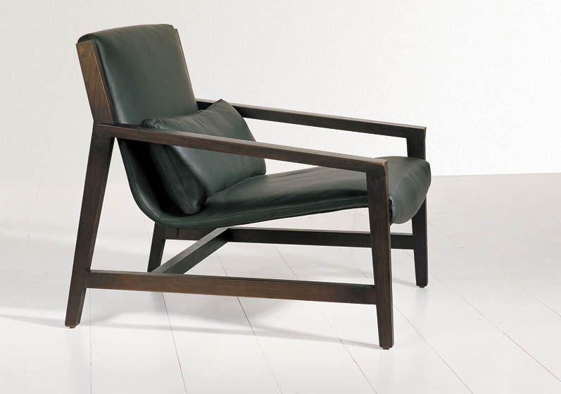 Low padded Bauhaus style chair Sillas Pinterest Sillas
