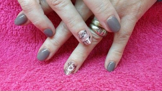 Nailart with gellac...