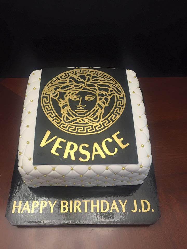 Versace Birthday Cake Birthday Cakes Pinterest Birthday Cakes
