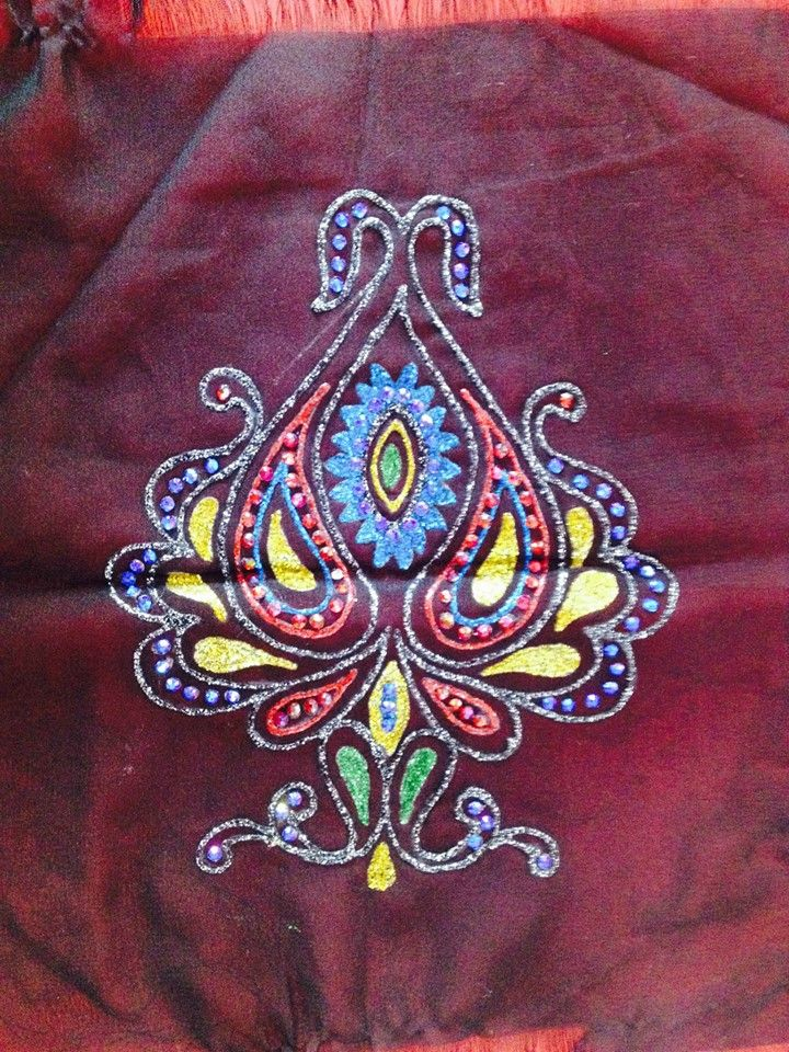 Liquid Embroidery Workshop By Inifd Gandhinagar Liquid Embroidery