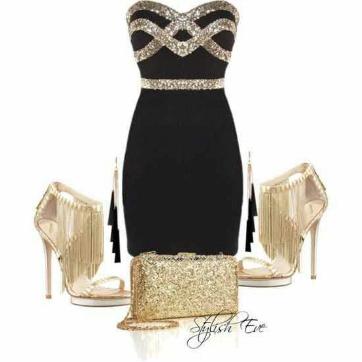 Gold and Black - homecoming?