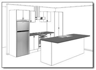 House Plans With Galley Kitchens Kitchen Type For Open Plan Kitchen Dining Areas In A S Best Kitchen Layout Galley Kitchen Layout Small Kitchen Layouts