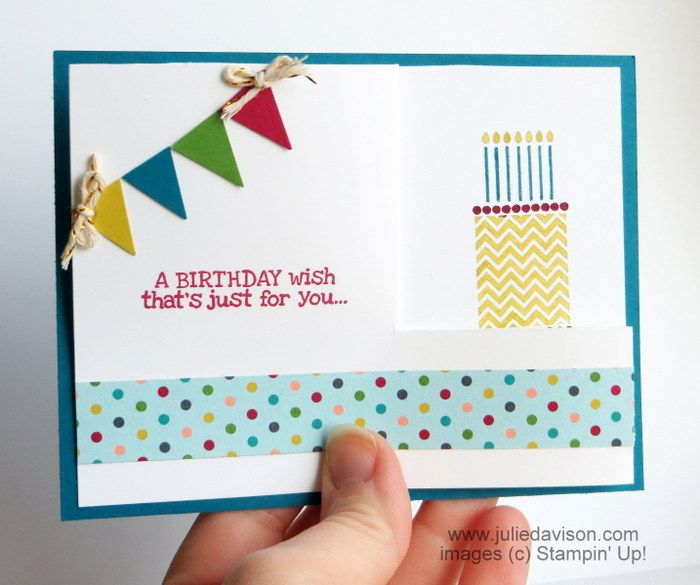 Wonderful Card Making Ideas Pdf Part - 8: Julieu0027s Stamping Spot -- Stampinu0027 Up! Project Ideas Posted Daily: VIDEO +