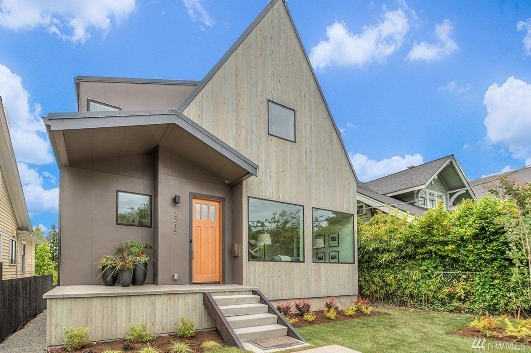Scandinavian Design Hits Mount Baker Wood on House - Maisons et - construire une maison ecologique