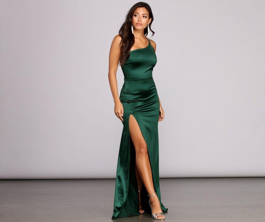 Rhiannon Satin Dress