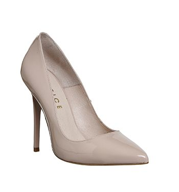 b3bead9738222 Office On To Point Court Heels Light Nude Patent Leather - High Heels