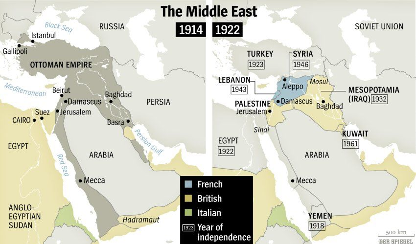 Map of Ottoman Empire vs Map of Middle East | Chapter 1 ... Map Of North Africa Middle East Before Ww on middle east borders after ww1, ottoman empire map after ww1, simple map of russia after ww1, map religions ottoman,