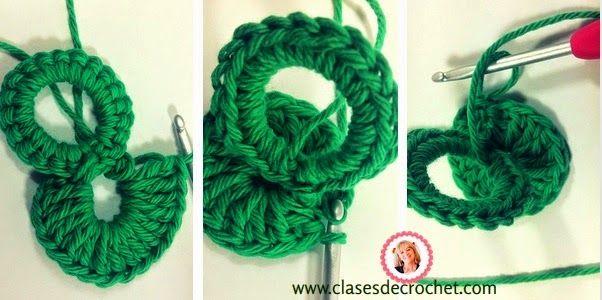clases crochet, patrones gratis, agarradera crochet   puntos ...