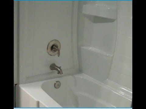 How To Remove Tub Fiberglass Shower Enclosure Demo Tear