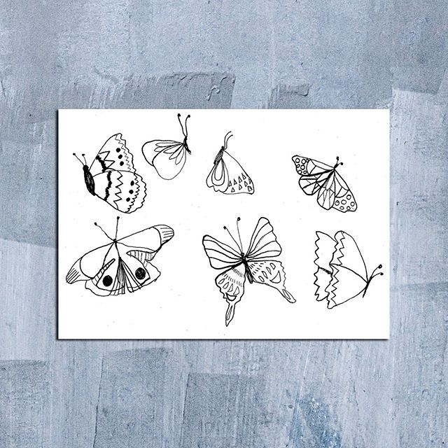 Skewer Butterflies For Day 7. I Like To Use Non
