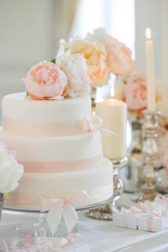 Idées déco mariage bohème chic  wedding cake