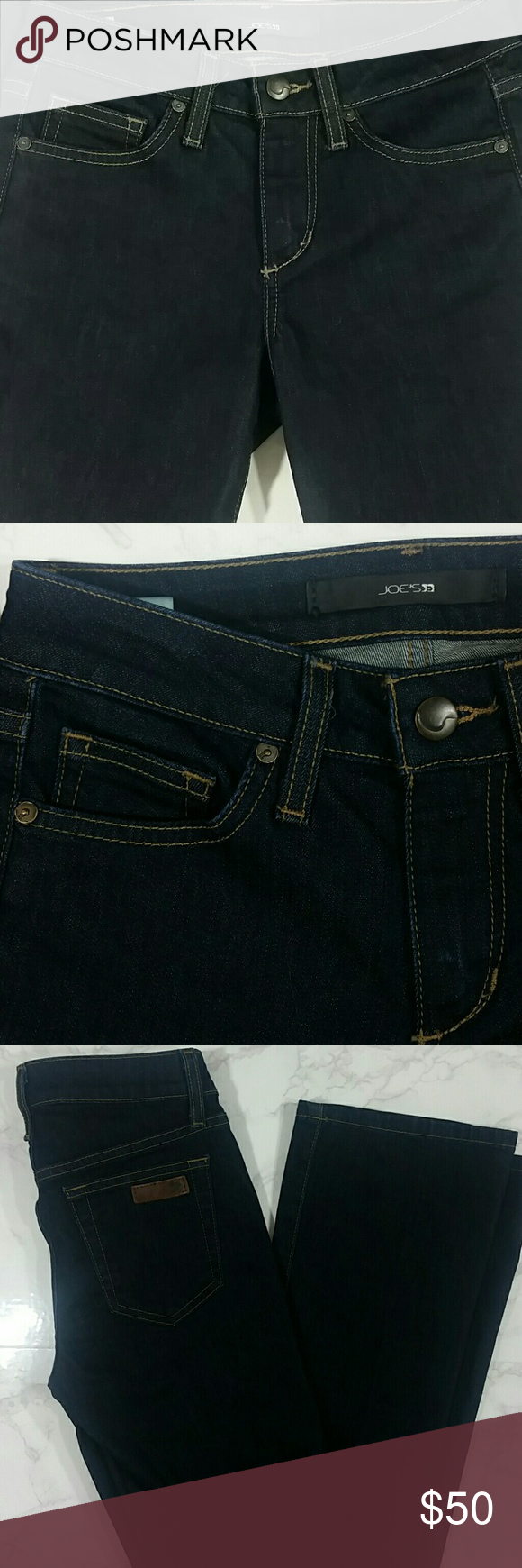 "Joe Jeans Curvy Bootcut In excellent condition! Length - 42"" Inseam - 33"" 8"" Front Rise Joe's Jeans Jeans"