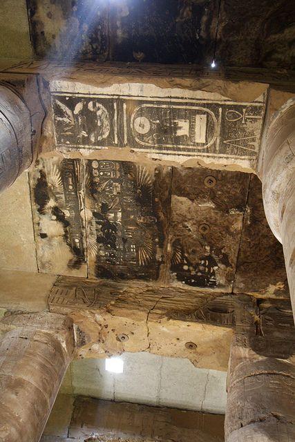 Templo de Sethi I en Abidos , Templo de seti I En Abydos. Segunda sala Hipostila. | por Soloegipto