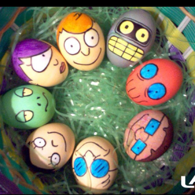 Watch out for Shiny eggs!  Do you know these characters?