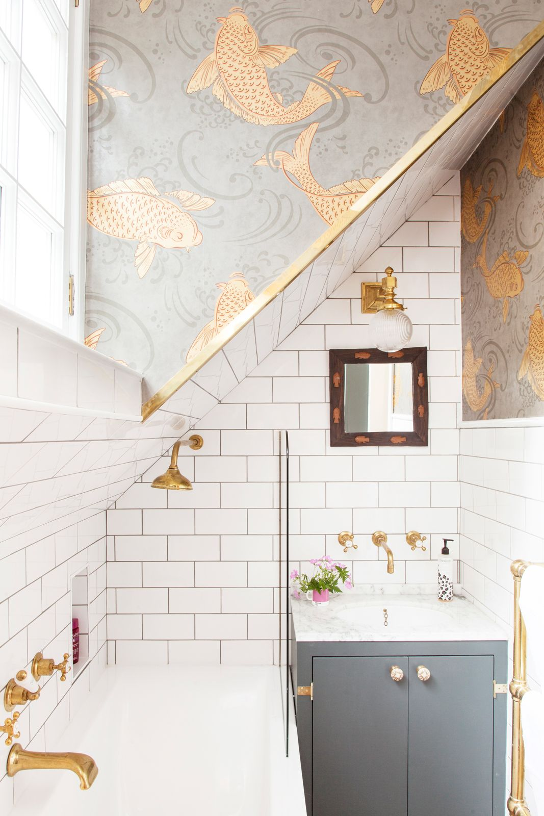 Bagno Design Edinburgh At Home With Emily Murray In Edinburgh Scotland Bathroom